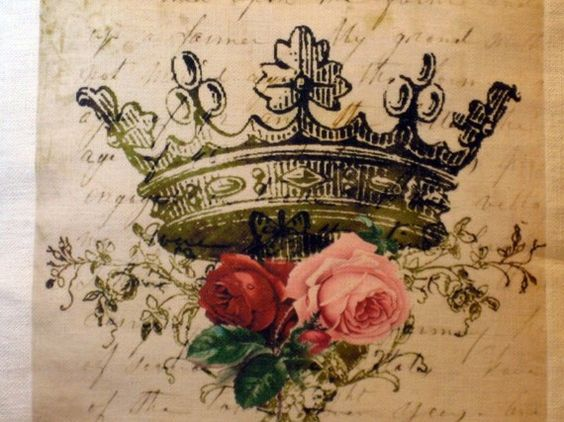 Colorful Crown Tattoos For Women