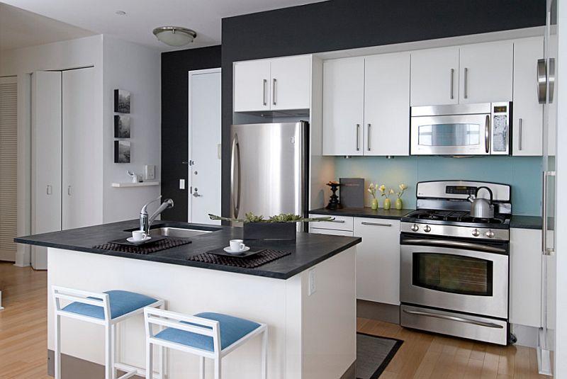50 Photos Of Gorgeous Black And White Kitchens