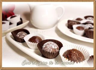 Bocaditos de chocolate