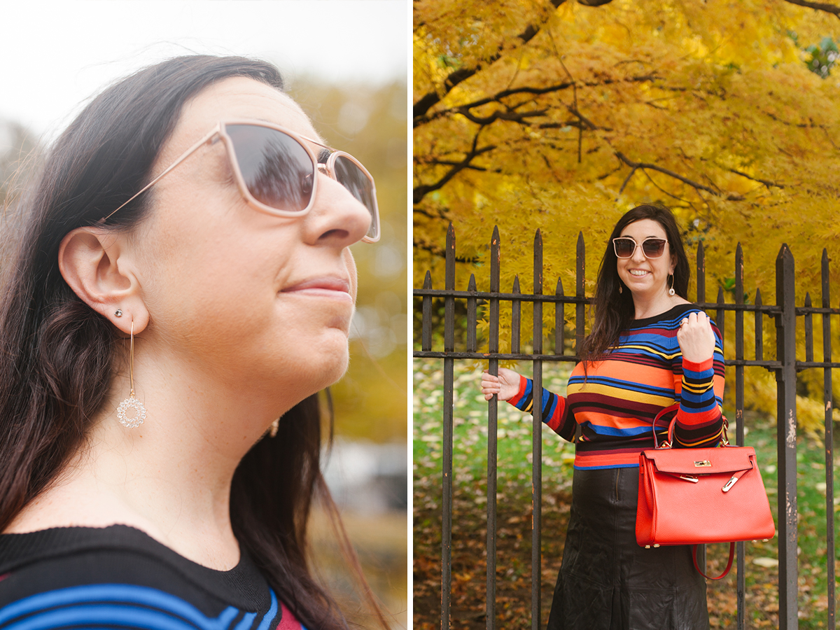 OOTD: The perfection of the striped sweater for Fall and Winter :: Effortlessly with Roxy