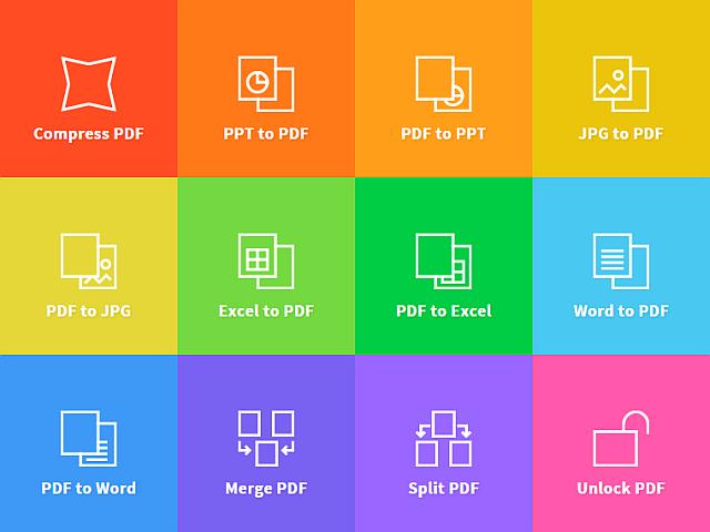 convertir des fichiers PDF vers Word smallpdf