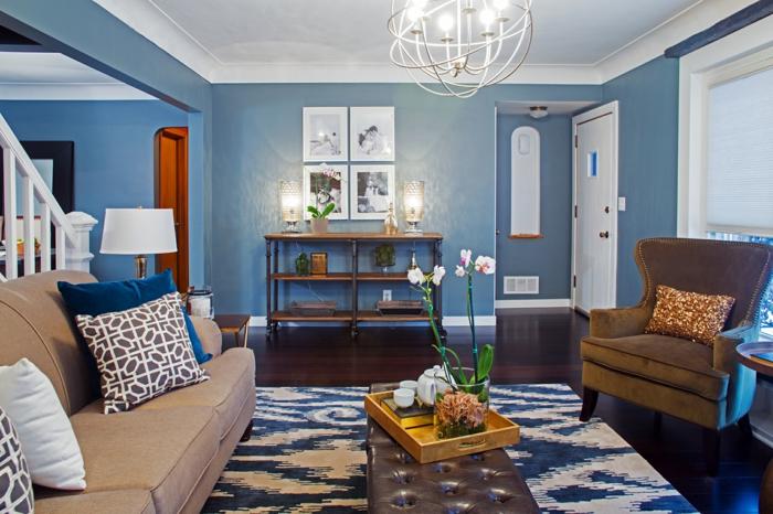 wandfarben wohnzimmer mediterran | minimalistische haus design - Wandfarben Wohnzimmer Mediterran