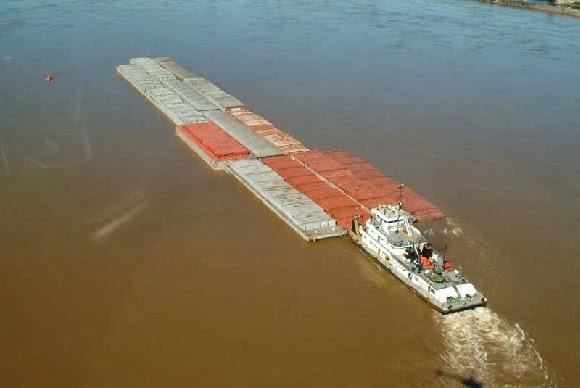 Resultado de imagen para buques y barcazas + hidrovia
