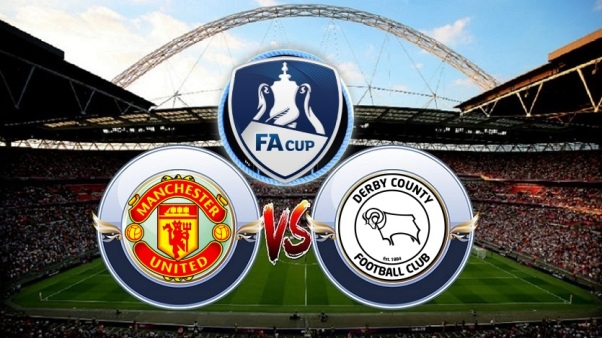 Link Live Streaming Manchester United vs Derby County - FA Cup