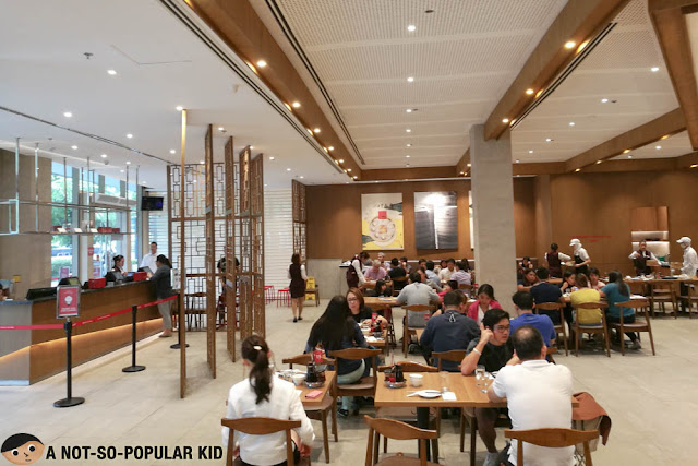 Interior of Din Tai Fung in BGC