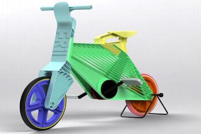 bicicleta de plastico