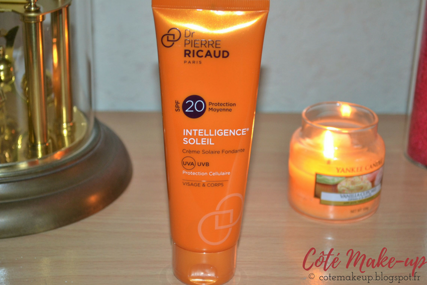 Crème solaire visage & corps SPF20 Dr Pierre Ricaud