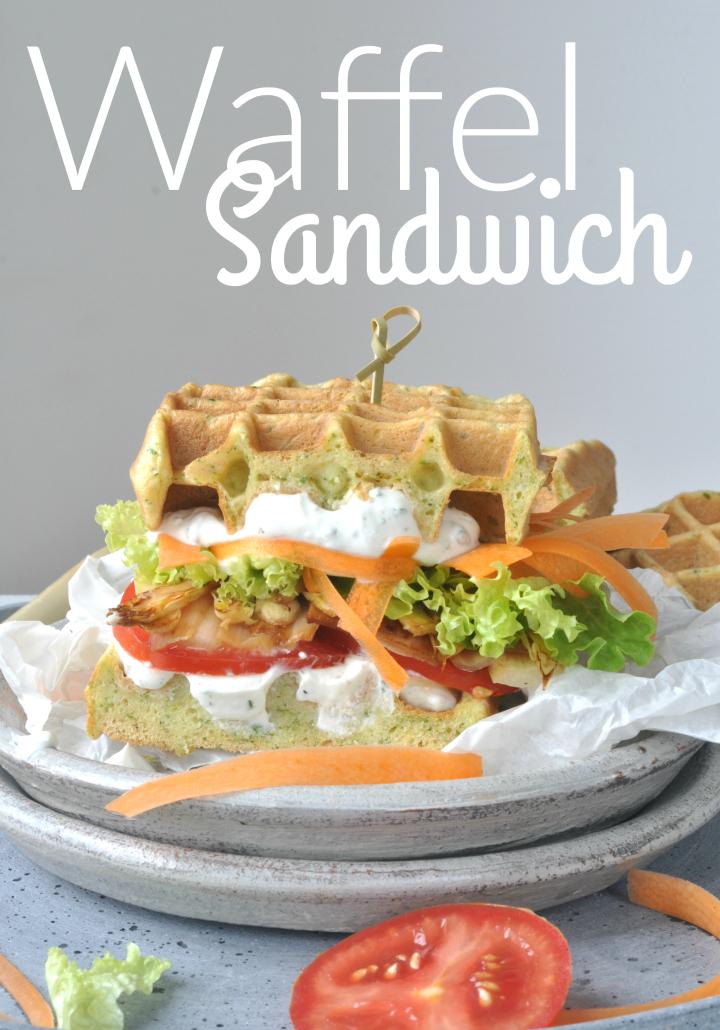delicious glutenfree Waffle-Sandwich