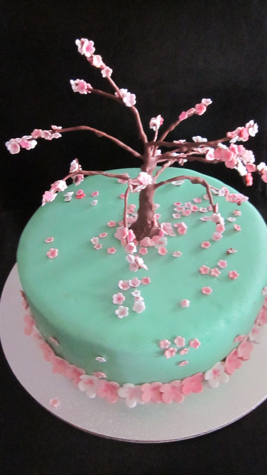 Deb S Cakes And Cupcakes Cherry Blossom Cake