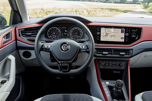 Novo VW Polo 2018 Beats - interior