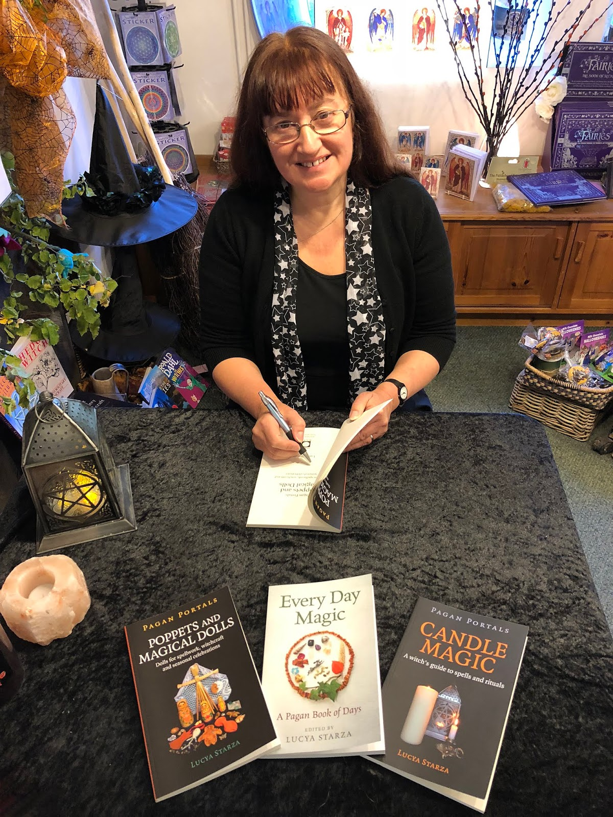 A bad witch's blog: Book News: Candles, Poppets & Every Day
