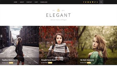 Elegant Clean & Responsive Blogger Template