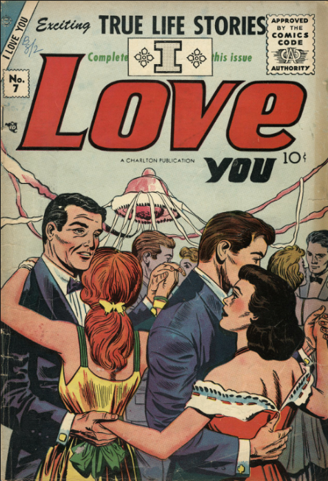 Kirby Charlton romance comics