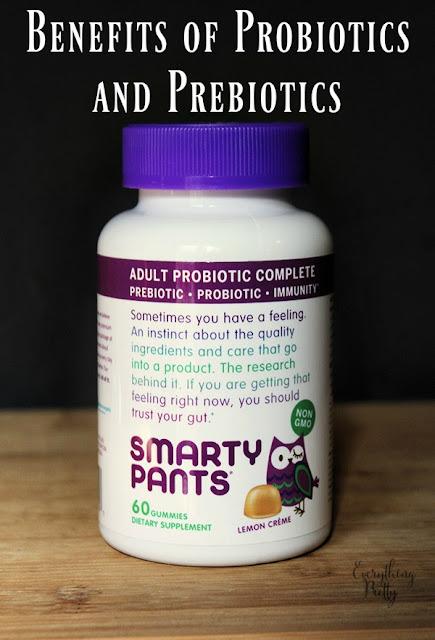 Benefits of probiotics and prebiotics.
