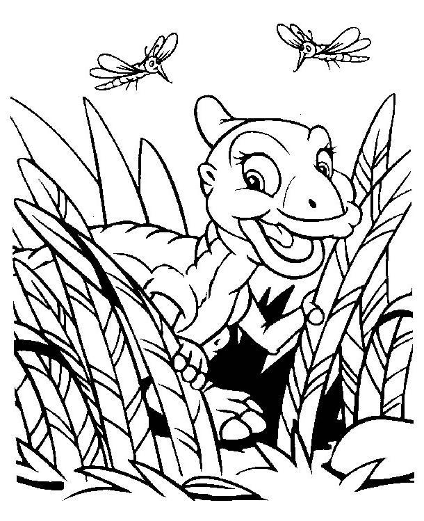 Desenho De Dinossauros Bebe Para Colorir
