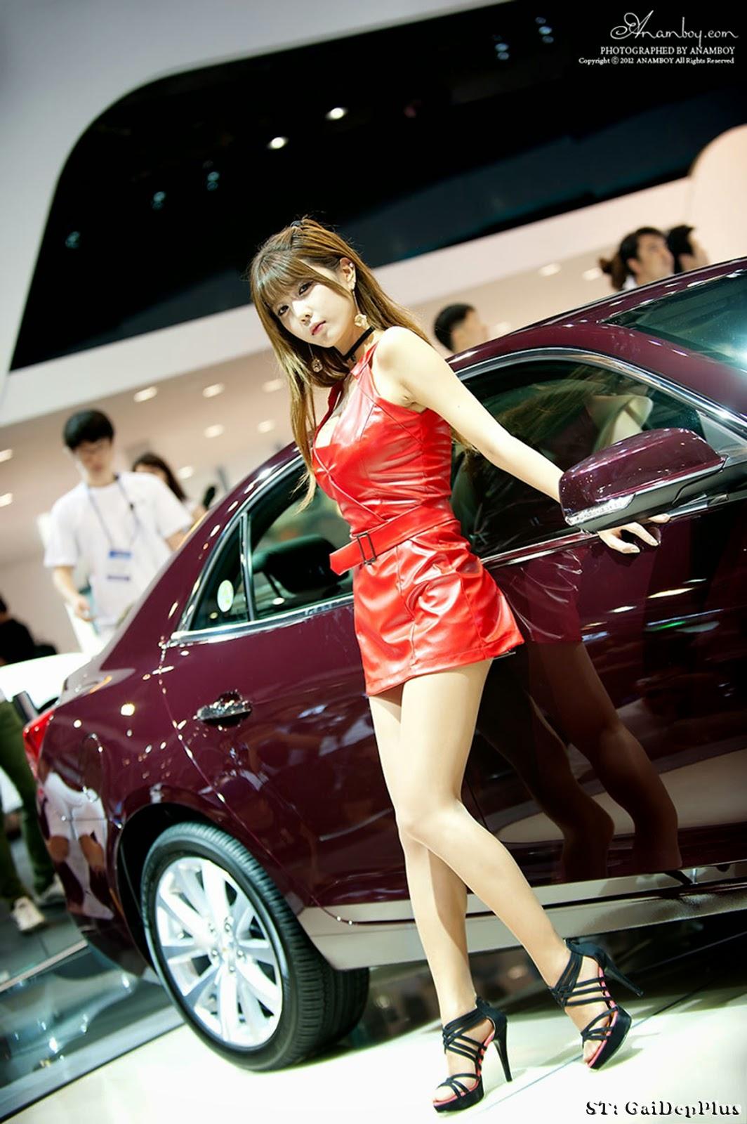 Korean Queen Of South Korean Cars Heoyunmi Beautiful Girl