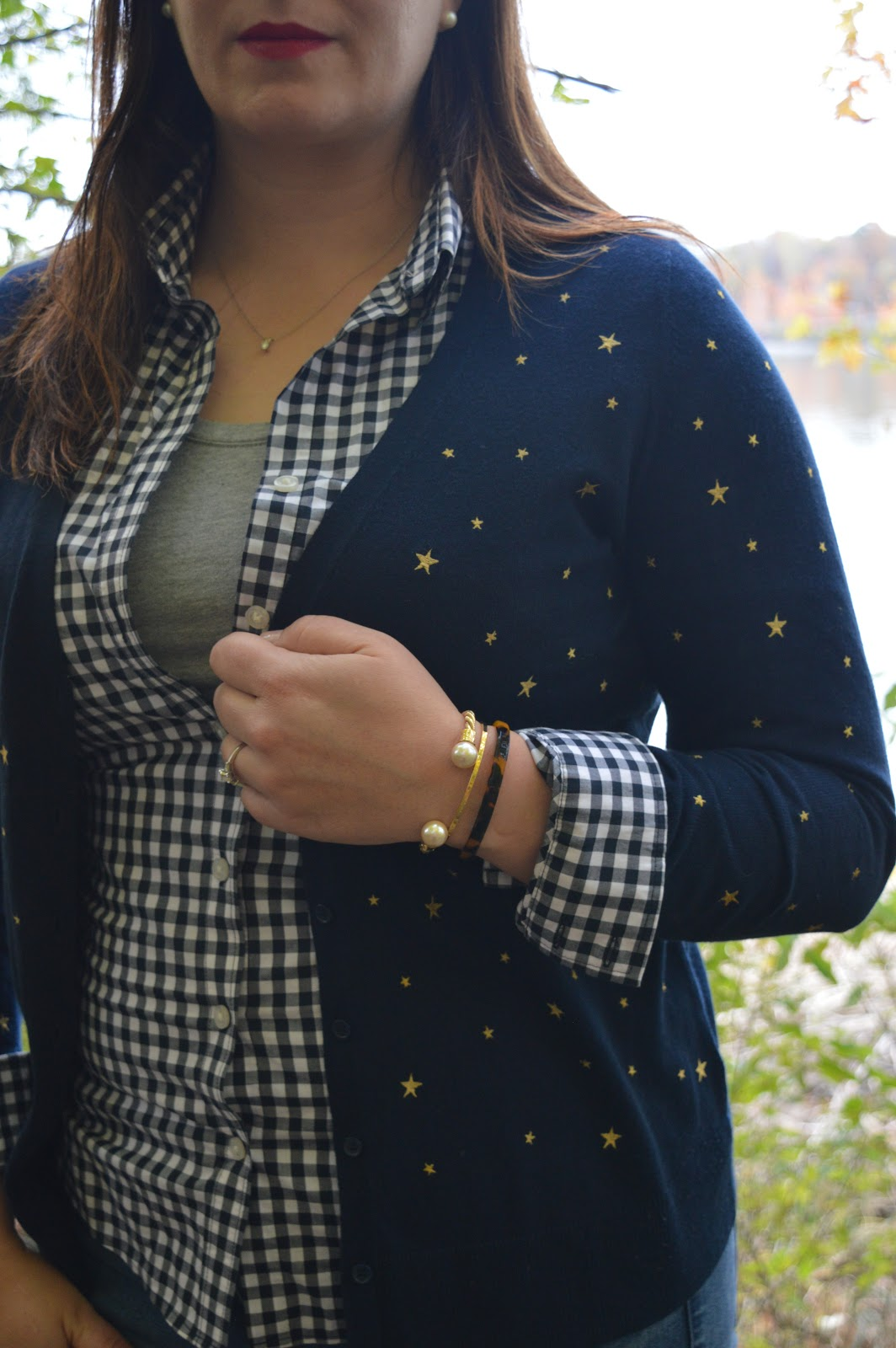 Old Navy star printed cardigan