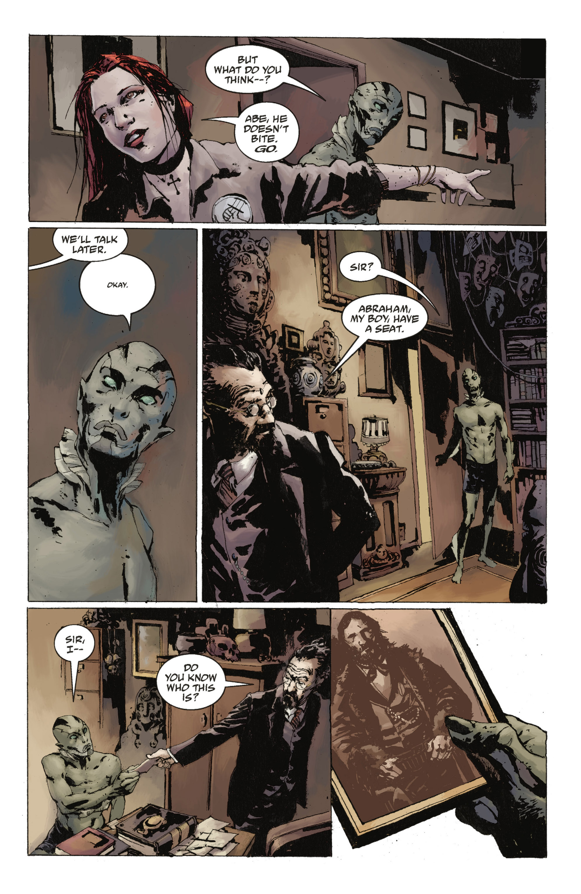 Read online Abe Sapien: The Drowning comic -  Issue #Abe Sapien: The Drowning _TPB - 22