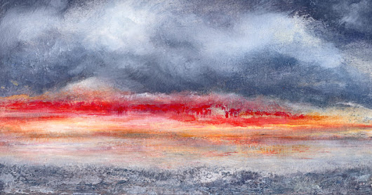 Twilight In Red - Daily Painting Auction | Blog