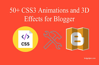 CSS3 Animations and 3D Effects for Blogger
