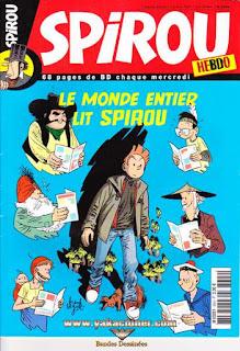 Spirou Hebdo, le monde entier lit Spirou, numéro 3604, année 2007