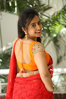 Lasya Cute Beauty in Saree Backless Choli at her Interview ~  Exclusive 062.JPG