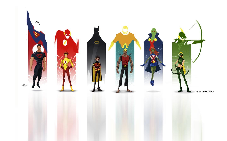 Юные супергерои картинки