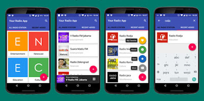 7 Android Template untuk Inspire Proyek membuat Aplikasi Android APK
