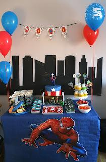 Słodki stół Marvel