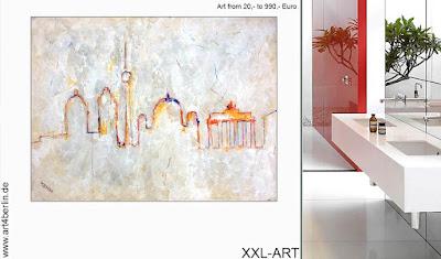 Großformatige, Acrylbilder, junge Malerei günstig kaufen!