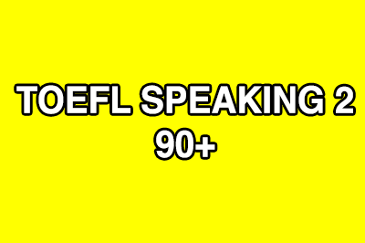 TOEFL TPO Speaking Questions - The English Booster