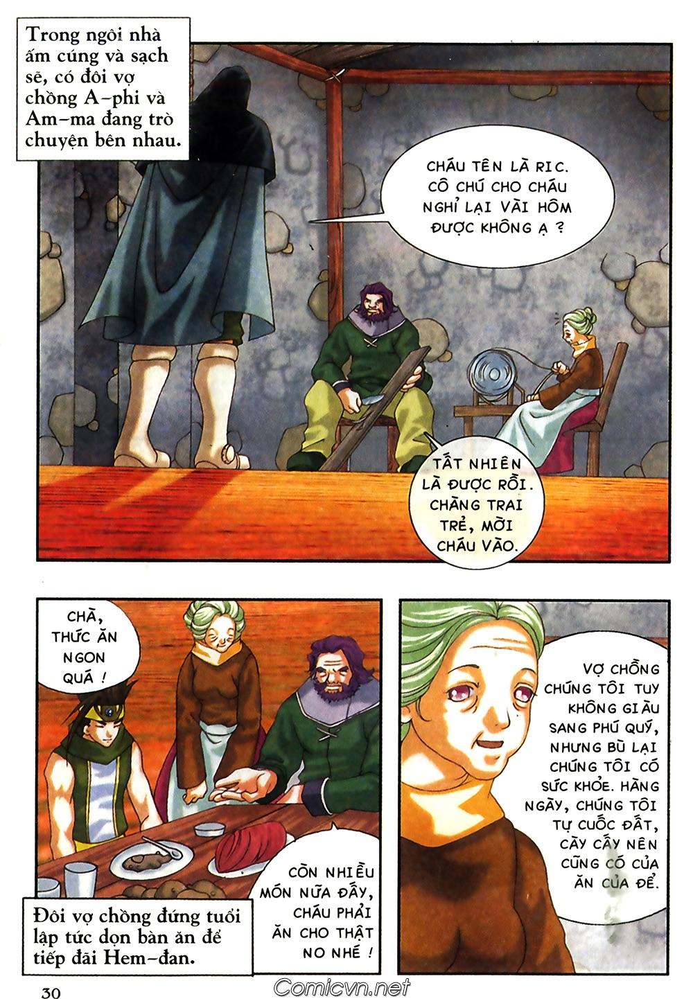 Thần thoại Bắc Âu - Chapter 38: Sứ mệnh đặc biệt - Pic 31