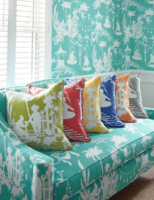 Good Life Of Design Mixing Patterns Colors For Decorative PIllows Beauteous South Seas Decorative Pillows