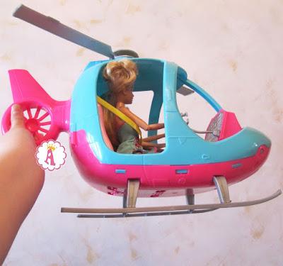 Летающий вертолет для Барби