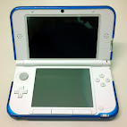 Cover interior with 3DS XL
