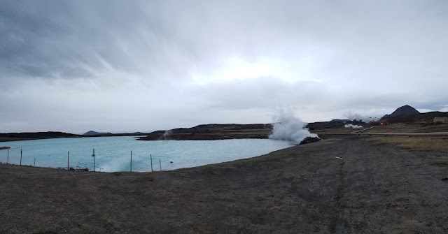 Driving from Höfn to Mývatn – fjords and blue lagoons