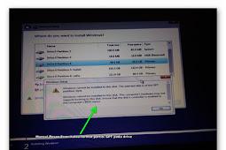 Cara Mudah Install Windows 10 Pada Harddisk GPT tanpa Harus Format Ulang Partisi Harddisk