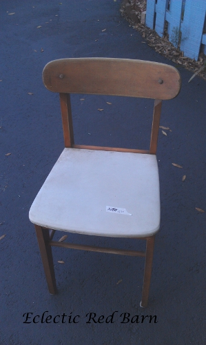 Purchased chair at flea market