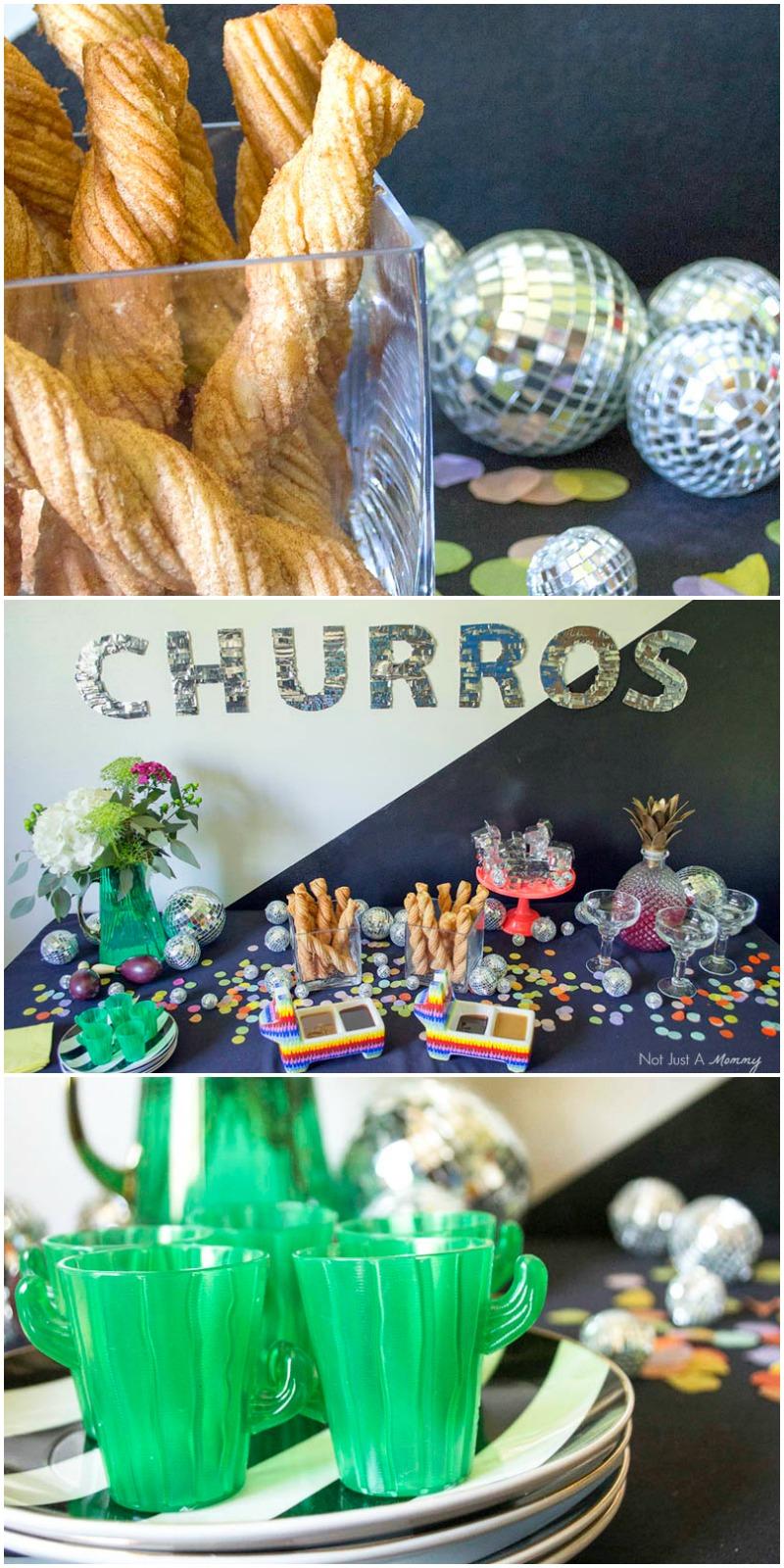 Your Cinco de Mayo party needs a Disco Churro Bar!