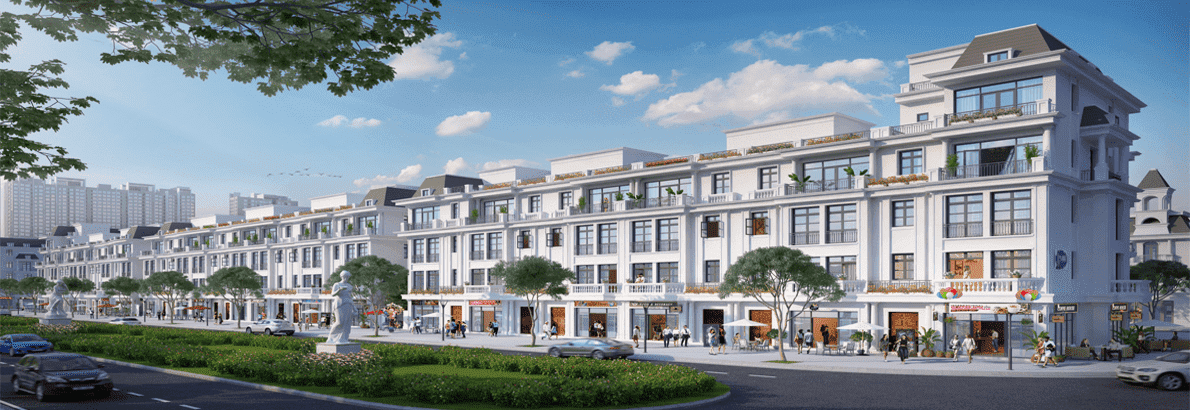 Shophouse Vinhommes Lagoon Gia Lâm – Đầu tư bền vững cho tương lai