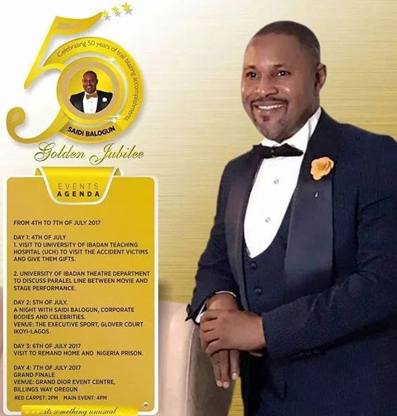 Image result for pictures saidi balogun at 50