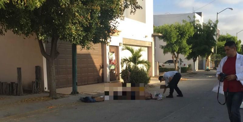 Masacran a tres en Culiacán y dejan cadáveres en la calle