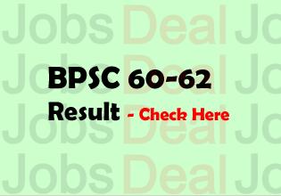 BPSC 60-62 Result 2017
