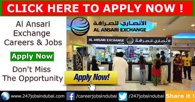 Recruiting Now at Al Ansari Exchange Jobs and Careers
