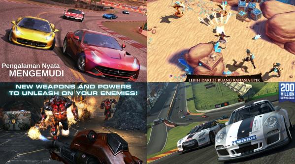 10 Game MultiPlayer Terbaik Untuk iOS dan Android dengan Kualitas HD