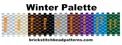 Basic seasonal bead palette
