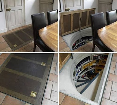 praktikus tároló a padló alatt