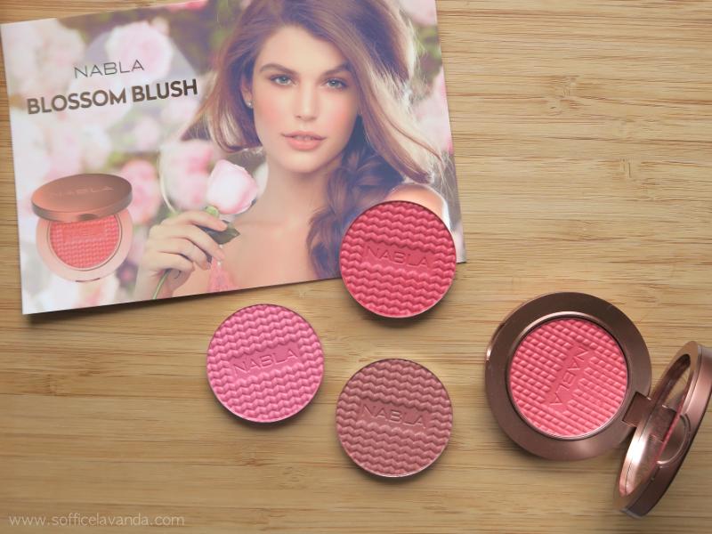 Nabla Cosmetics Blossom Blush  Prime impressioni e Swatches ... e81c5c619a5