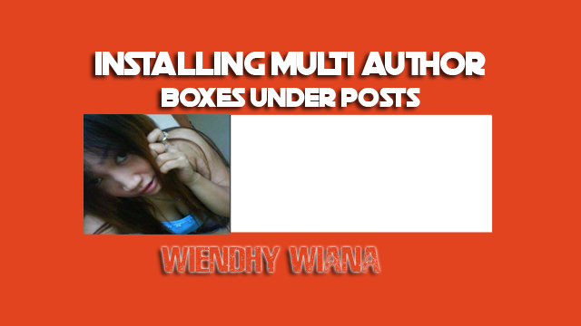 Installing Multi Author Boxes Under Posts