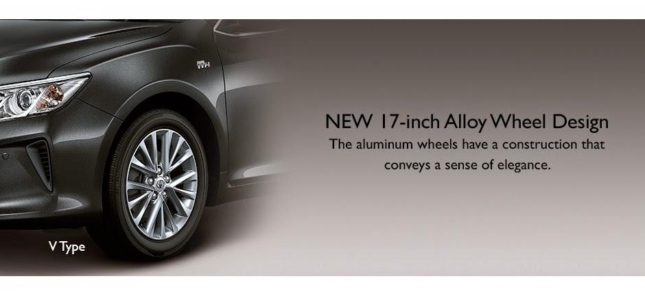 new camry alloy wheel